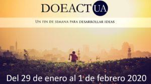 Cartel DOEACTUA 2020